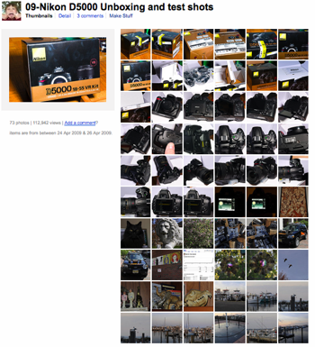 Nikon D5000 unboxing and test shots by Kadath