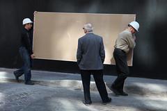 Boss Man (Ryan Koopmans) Tags: street canada vancouver construction candid columbia british gastown