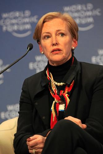 Ellen Kullman by World Economic Forum on flickr.com