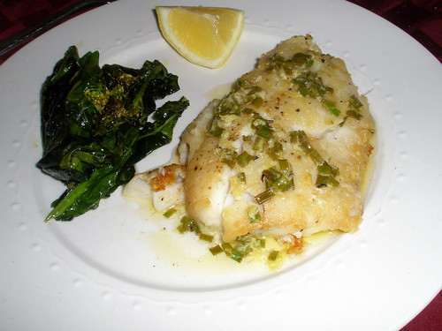 Hake with Lemon, Chive, and Butter Sauce | Culinary Studio