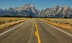 Highway to the Top (Jeff Clow) Tags: mountains highway wyoming grandtetonnationalpark 1exp jacksonholewyoming jeffrclow vosplusbellesphotos