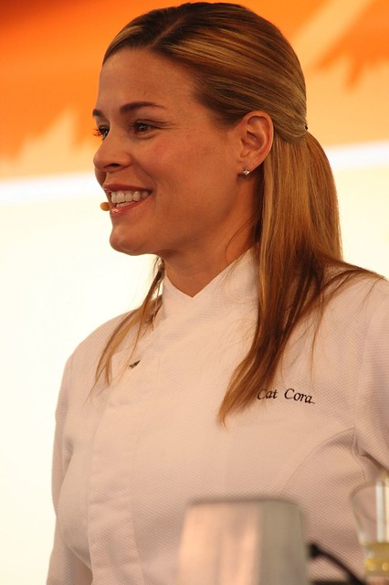 Disney's California Food & Wine Festival - Iron Chef Cat Cora by armadillo444