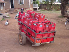 Kampala, Uganda Coca-Cola distribution