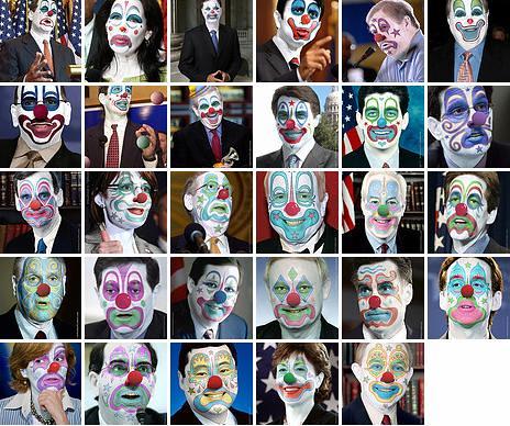 clown makeup designs. clown makeup on the faces
