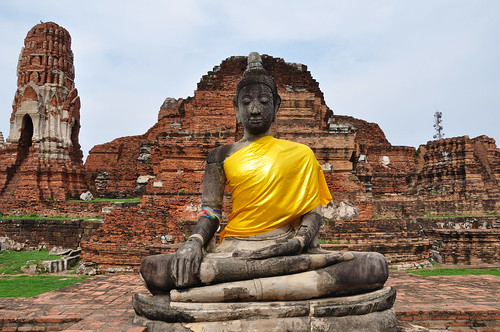 wat maha that ayutthaya unesco world heritage site
