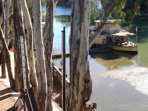 Paddle steamer Echuca