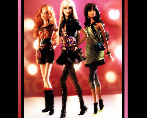 barbie wallpapers. TOPMODEL Barbie Wallpaper