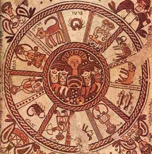 Zodiac_Wheel_sixth_century_mosaic_Beit_Alpha
