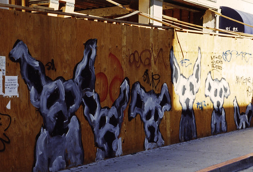 1990s Dog graffiti 14