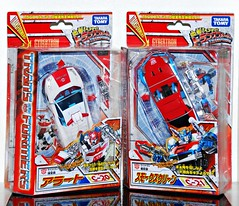 Henkei Red Alert & Smokescreen