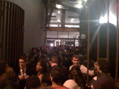 Packed intelligentsia opening is packed