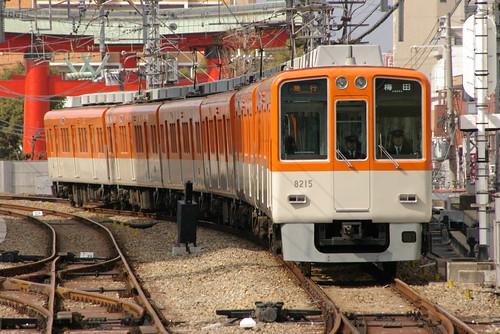 Hanshin8000series(type III) in Amagasaki(Hanshin),Amagasaki,Hyogo,Japan 2009/2/14