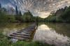 Longing (BarneyF) Tags: sunset sky lake france landscape jetty hdr photomatix 9exp lacitadelle 9exposure
