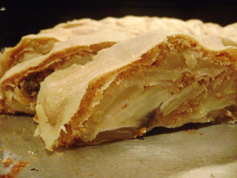 Daring Bakers, May: Strudel; Come hither shot