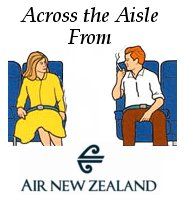 Across the Aisle from Air New Zealand