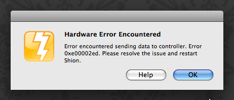 Shion: Hardware Error
