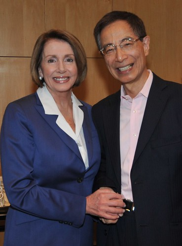 Speaker Pelosi and Martin Lee