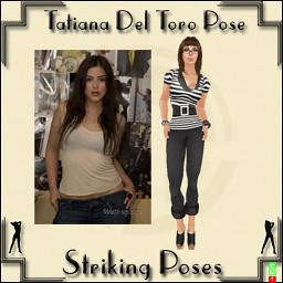 Tatiana Del Toro Pose