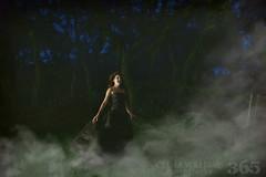 122-365 (Olivia Jean Williams) Tags: trees portrait selfportrait tree fog night clouds self pro