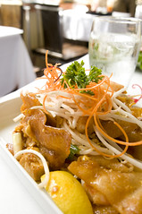 Crispy Wide Rice Noodle Pad Thai, Koh Samui and The Monkey, San Francisco