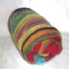 """""""Color Burst"""" Spinning Batt"""