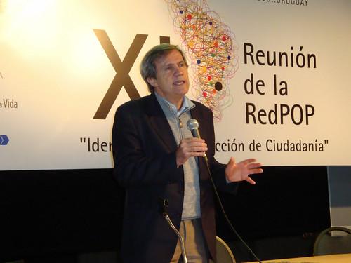 Inauguración XI Reunión RedPop, Montevideo, Uruguay