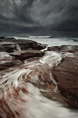 North Bungan Swirl (Tim Donnelly (TimboDon)) Tags: ocean seascape storm australia nsw cokin bungan