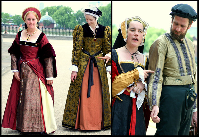 More lecture for Tudor costume