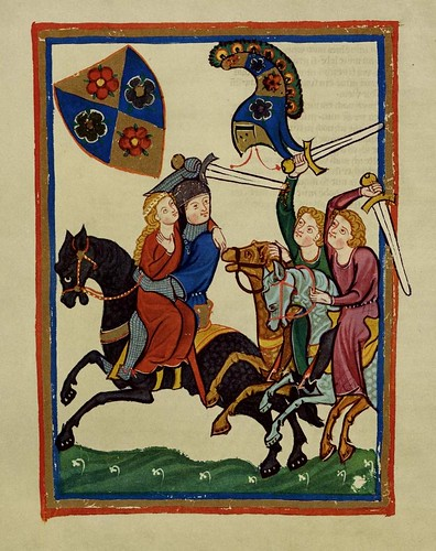 013- Frederick Knecht-Codex Manesse