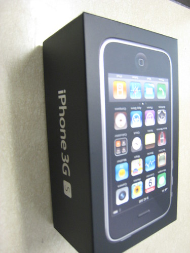 32GB Iphone 3Gs (Black)
