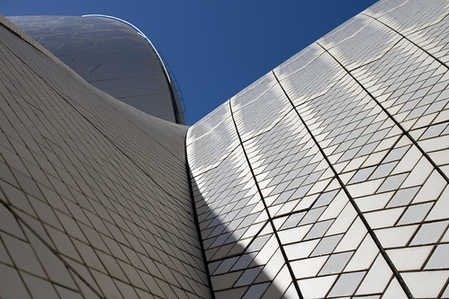 Opera House roof and sky