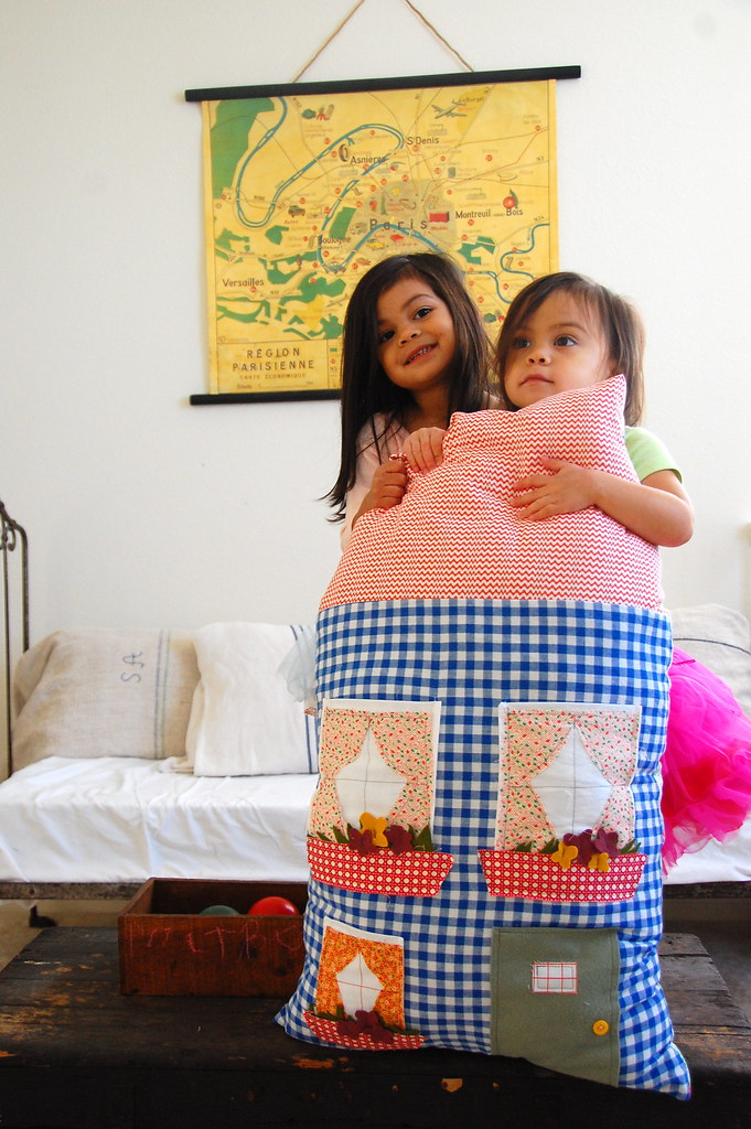 new dollhouse pillow
