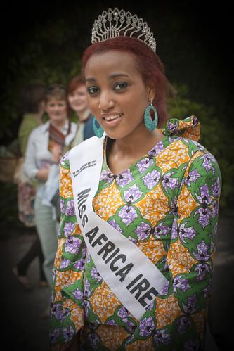 Africa Day 2010 - Miss Africa Ireland, Stazia Costa