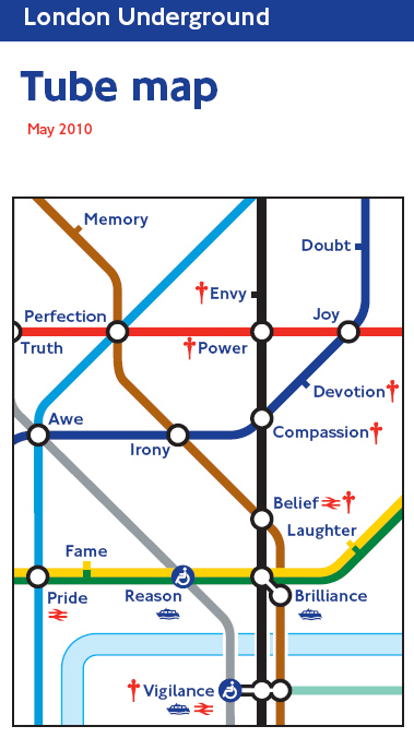 Tube Map Cover May 2010