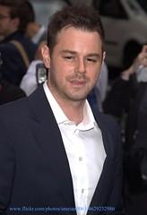 Danny Dyer (iron_smyth48) Tags: portrait people man celebrity film smile face hair carpet star eyes dyer danny actor celebrities celebs premiere celeb