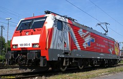 189 065-6 in Oberhausen-West (CargoFighter2) Tags: br neuss tulpe 189 br189 kijfhoek es64f4 oberhausenwest rotterdamwaalhaven 1890656 tulploc