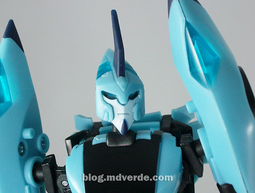 Transformers Blurr Animated Deluxe - modo robot