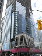 Shangri La Toronto hotel condo May 19 2011 (Meteor54) Tags: toronto skyline hotel construction shangrila condo