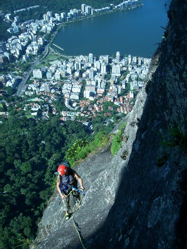 Taking a breather on Corcovado mountain