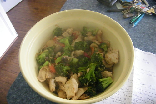 Simple Chicken with Broccoli Stir-fry