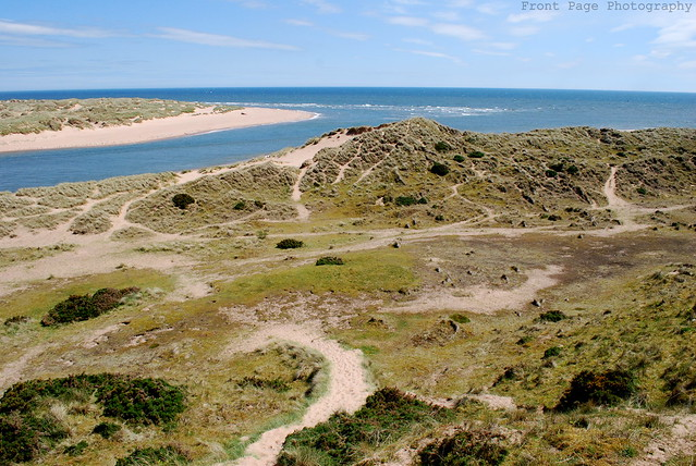 Sand Dunes & The North Sea