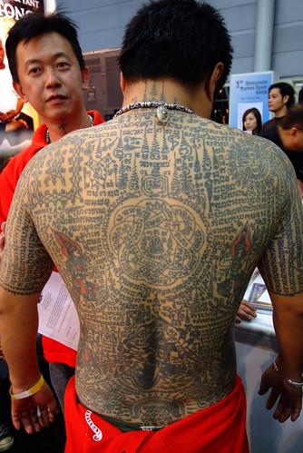Ritual tattoo