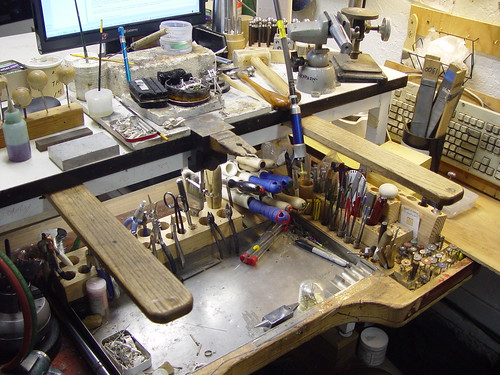 Homemade Jewelers Bench