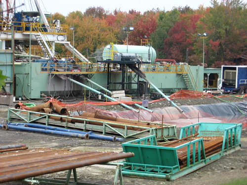 drilling mud pit