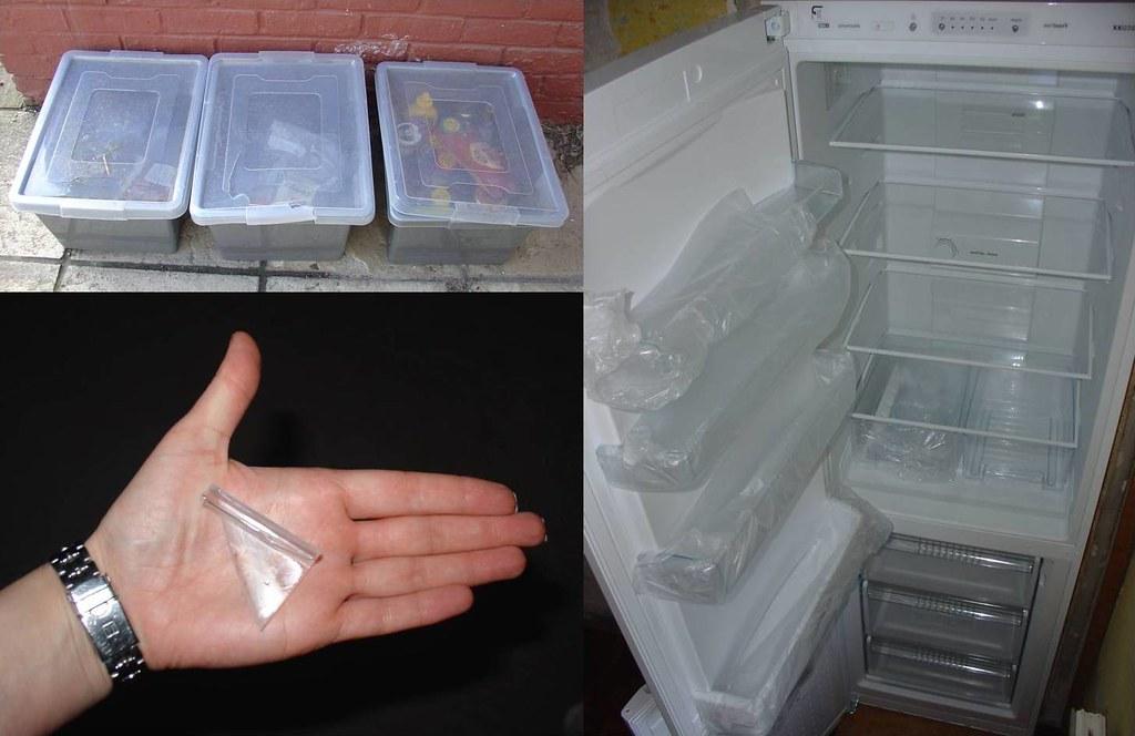 day #14 - fridge freezer