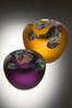 Purple/Amber Bowl Duo