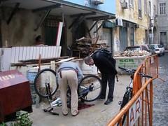 Cicloficina de Lisboa (Jan '09)