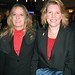 Volunteers Ronda Berthiaume and Sue Pierce