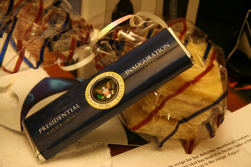 soon-to-be white house shortbread