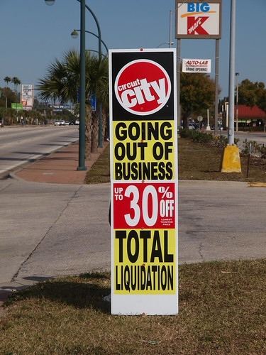 Circuit City Locations Going Out Business